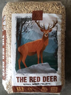 The Red Deer Houtpellets van Baltawood